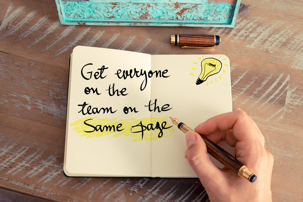How To Get Your Sales and Marketing Team On The Same Page