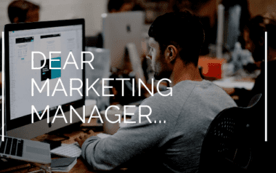 Dear Marketing Manager…